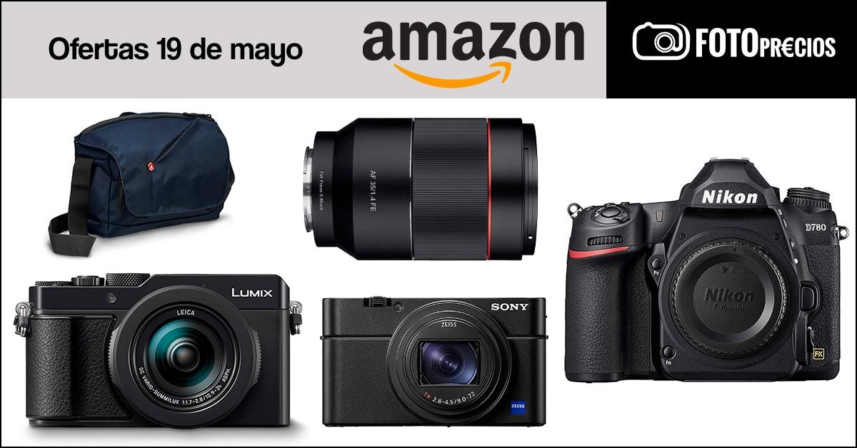 Precios mínimos de fotografía en Amazon del 19 de mayo.