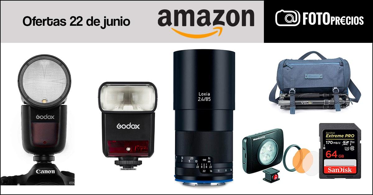 FotoPrecios mínimos en Amazon del 22 de junio.