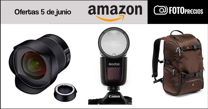 Precios minimos fotografia del 5 de junio en Amazon.
