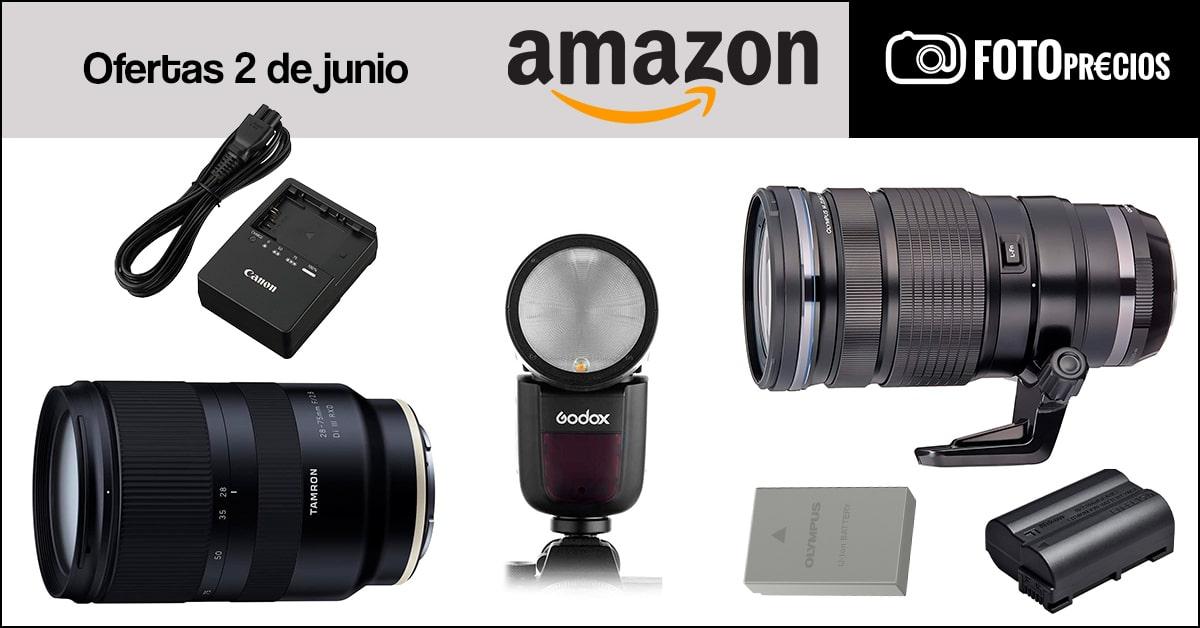 Precios minimos fotografia del 2 de junio en Amazon.