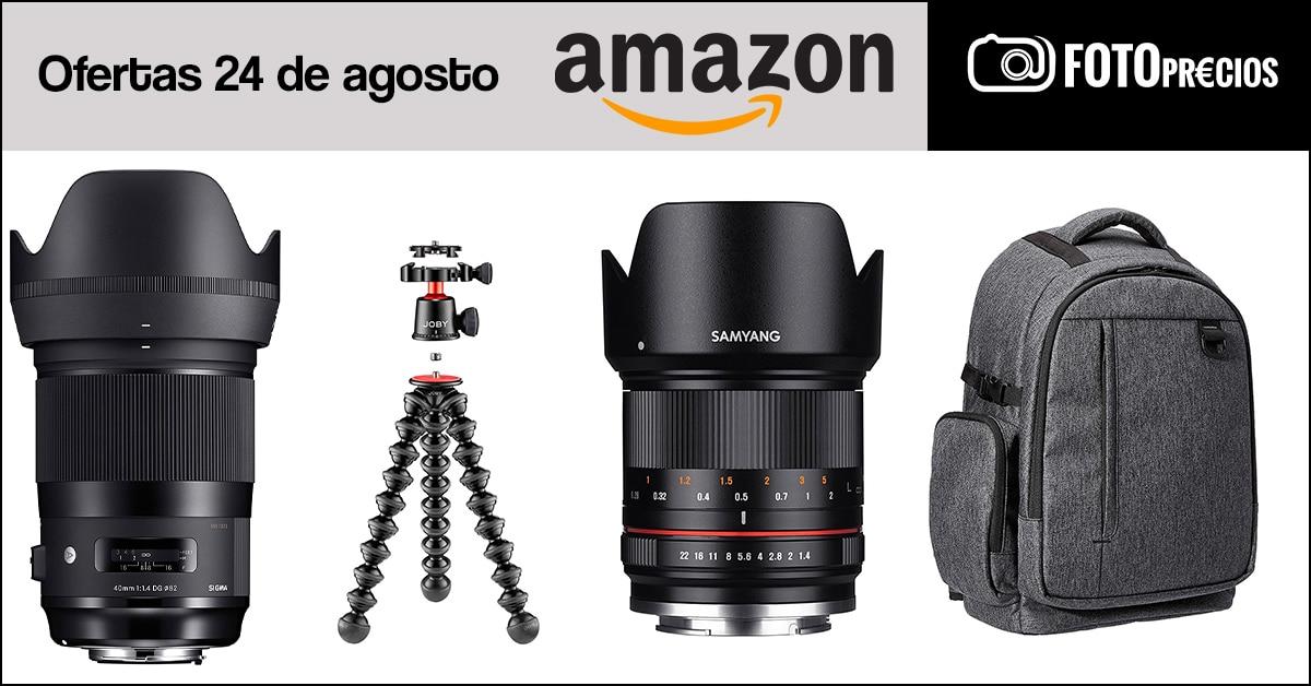 Fotoprecios mínimos del 24 de agosto en Amazon.