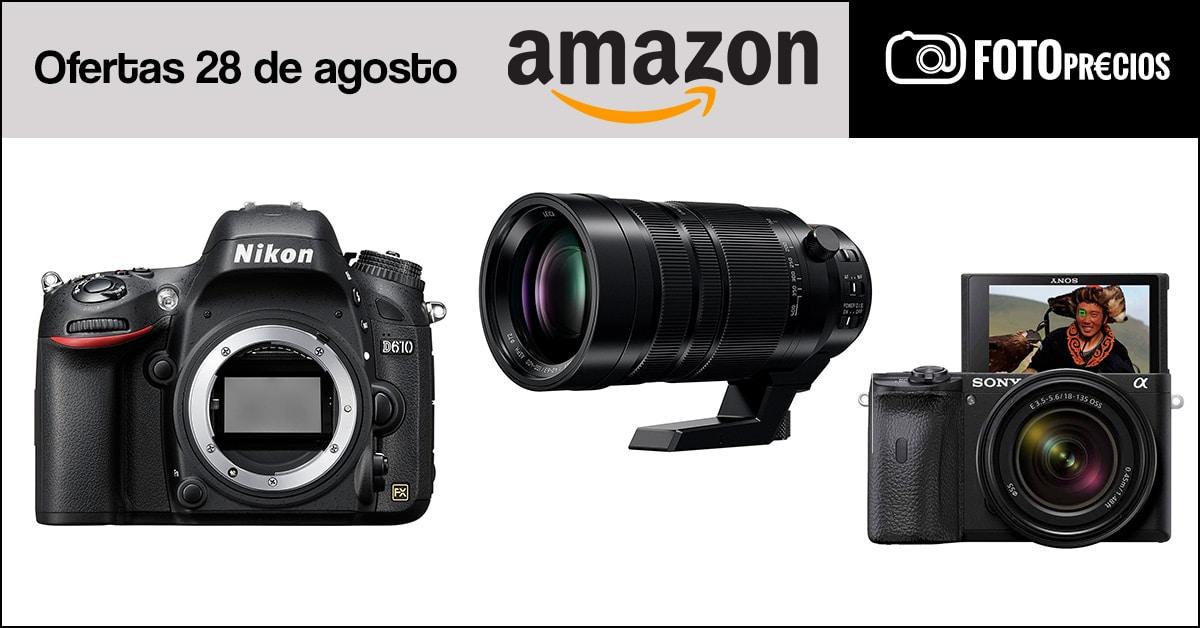 Fotoprecios mínimos del 28 de agosto en Amazon.