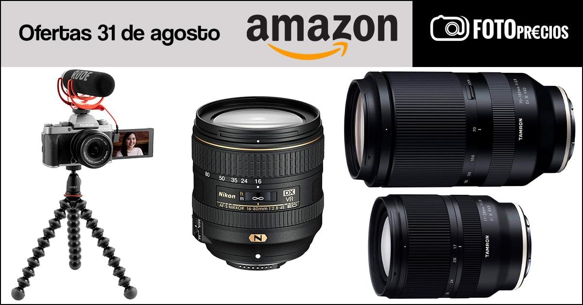 Fotoprecios mínimos del 31 de agosto en Amazon.
