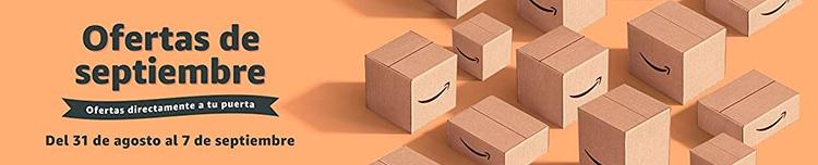 Ofertas de septiembre en Amazon.
