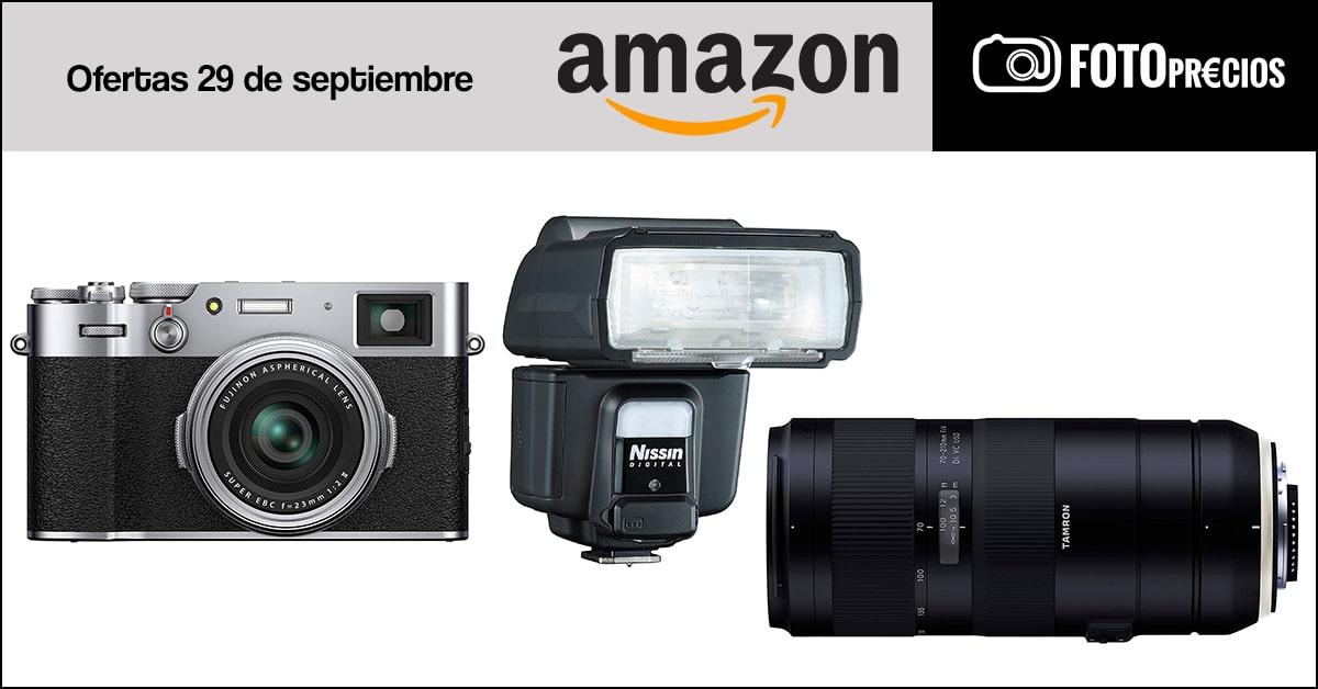 Fotoprecios mínimos del 29 de septiembre en Amazon.