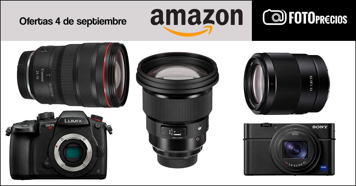 Fotoprecios mínimos del 4 de septiembre en Amazon.