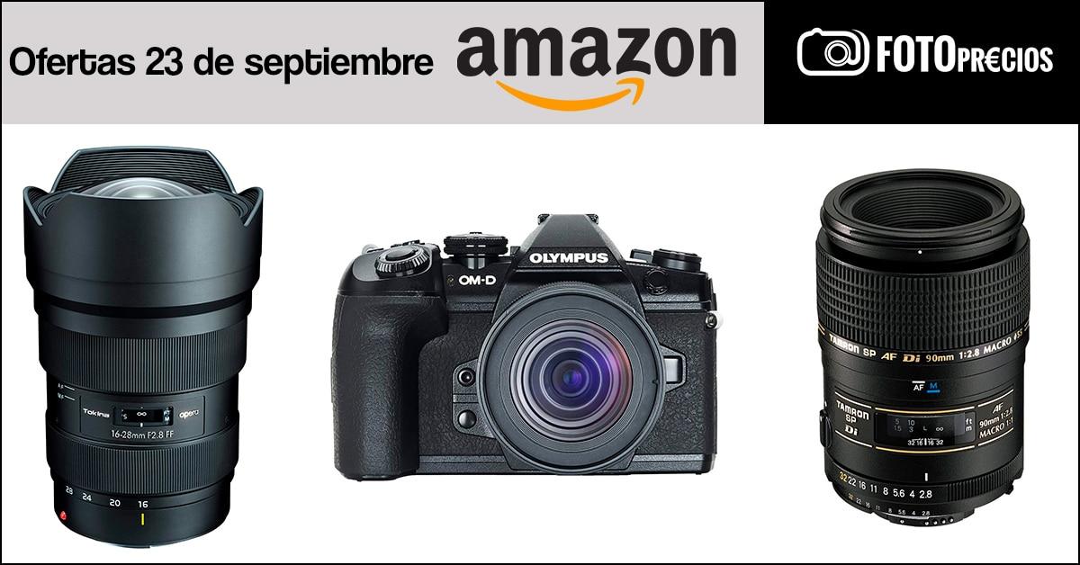 Fotoprecios mínimos del 23 de septiembre en Amazon.