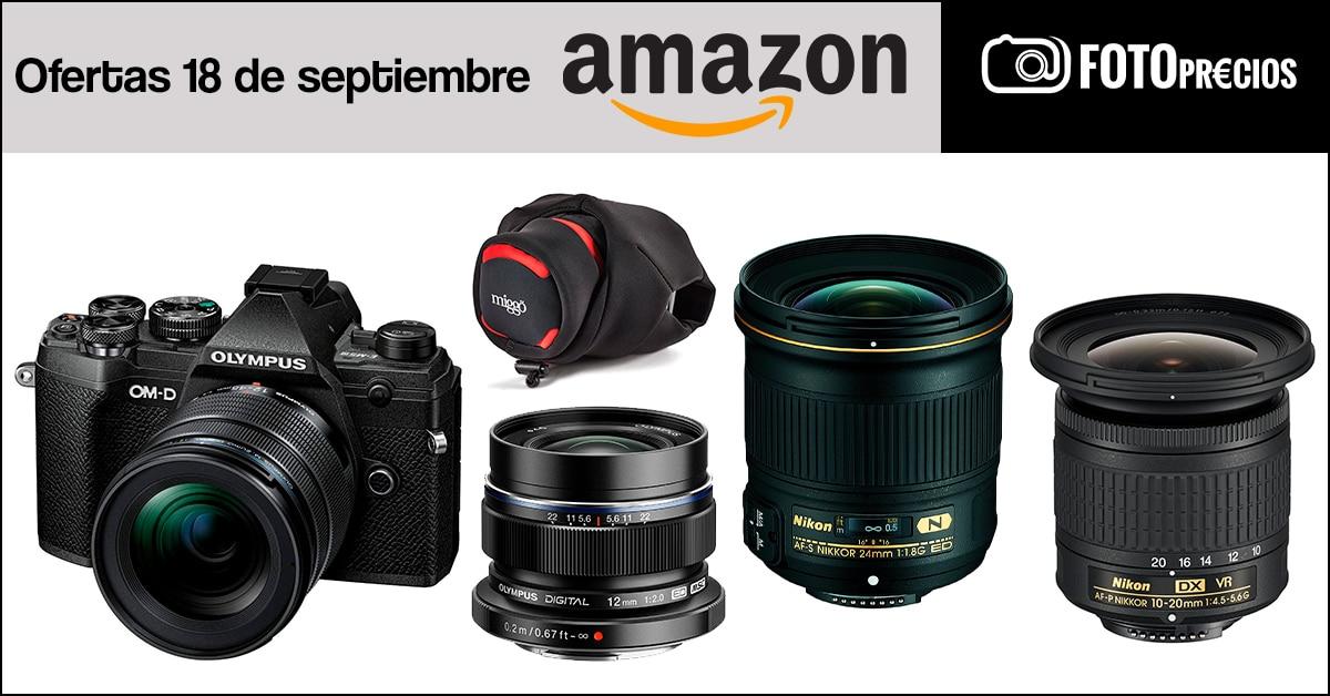 Fotoprecios mínimos del 18 de septiembre en Amazon.