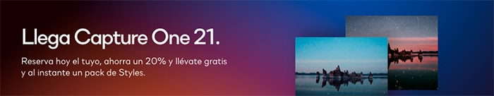 Ofertas Capture One 21.