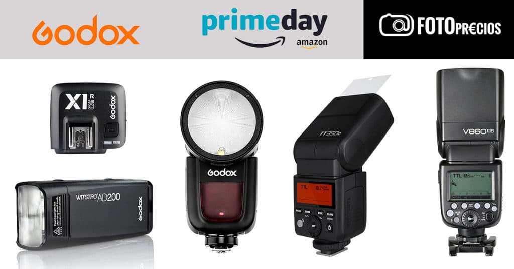 Ofertas en flashes Godox del Prime Day 2020.