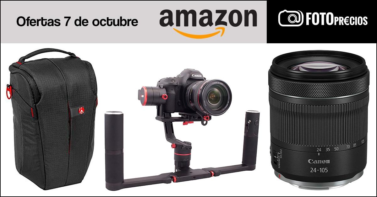 Fotoprecios mínimos de Canon RF 24-105mm y Feiyu A2000