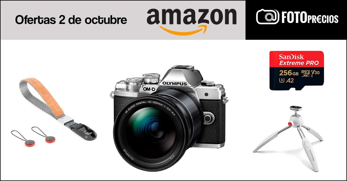 Fotoprecios mínimos Olympus en Amazon.