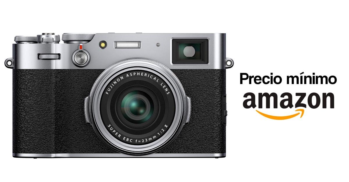 Precio más barato en Amazon por la Fujifilm X100V.