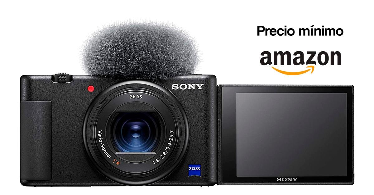 Precio mínimo Sony ZV1 en Amazon.