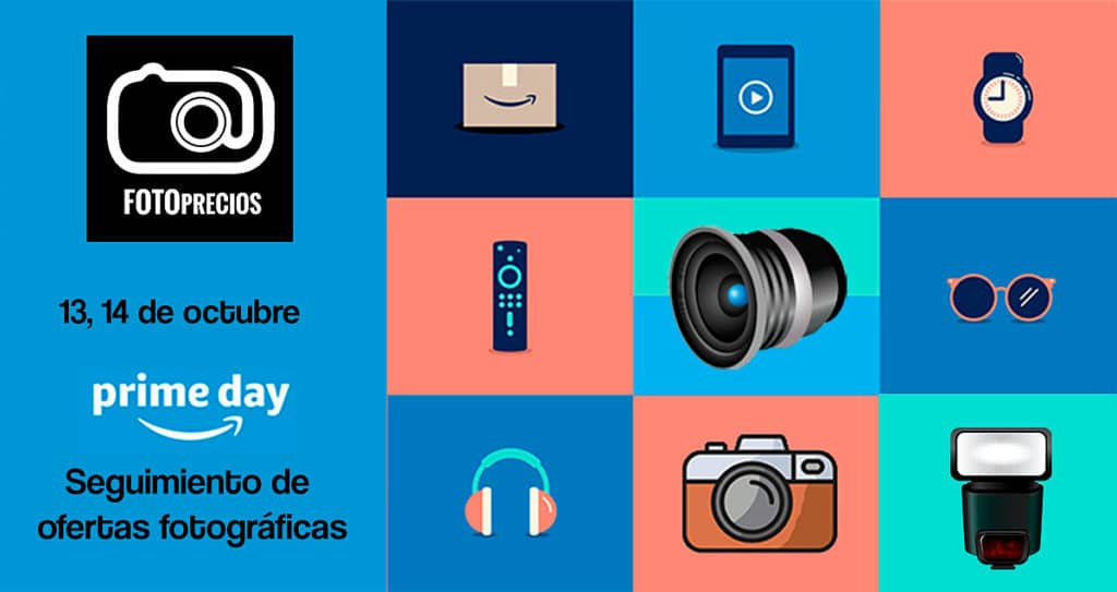 Seguimiento Amazon Prime Day 2020 en productos de fotografía.