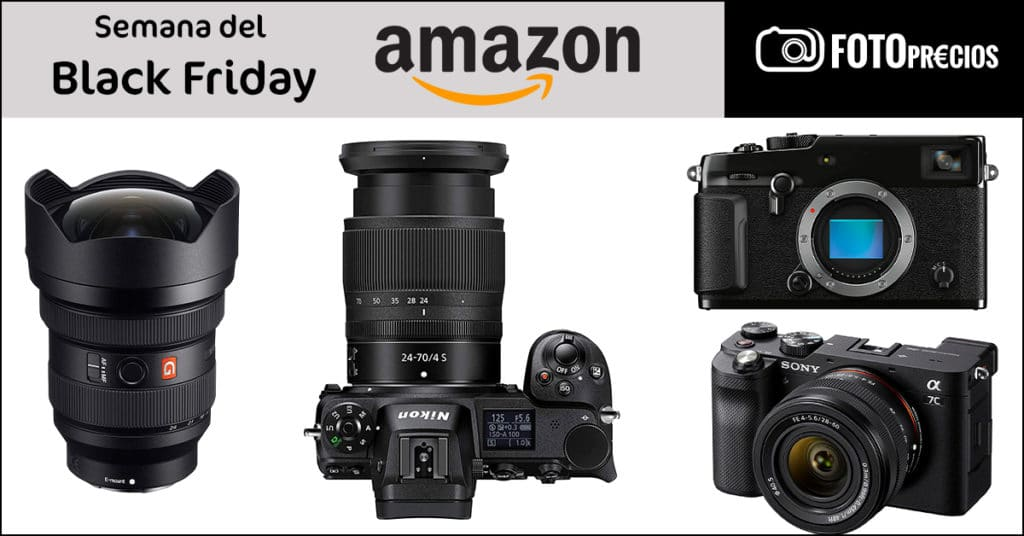 Ofertas de fotografía de la semana del Black Friday: Nikon Z6, Sony A7C, Fujifilm X-Pro3.