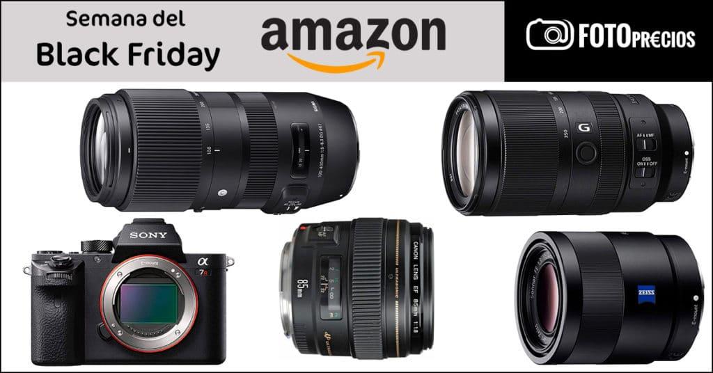 Precios mínimos de fotografía en Amazon de la Semana del Black Friday. 21 de noviembre.