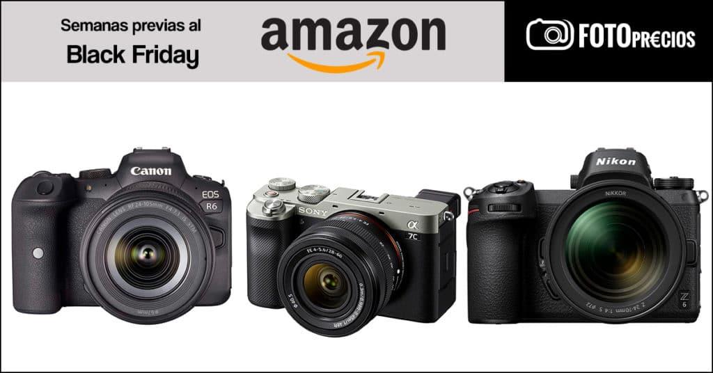 Ofertas del Black Friday 2020: Canon R6, Sony A7C, Nikon Z6.