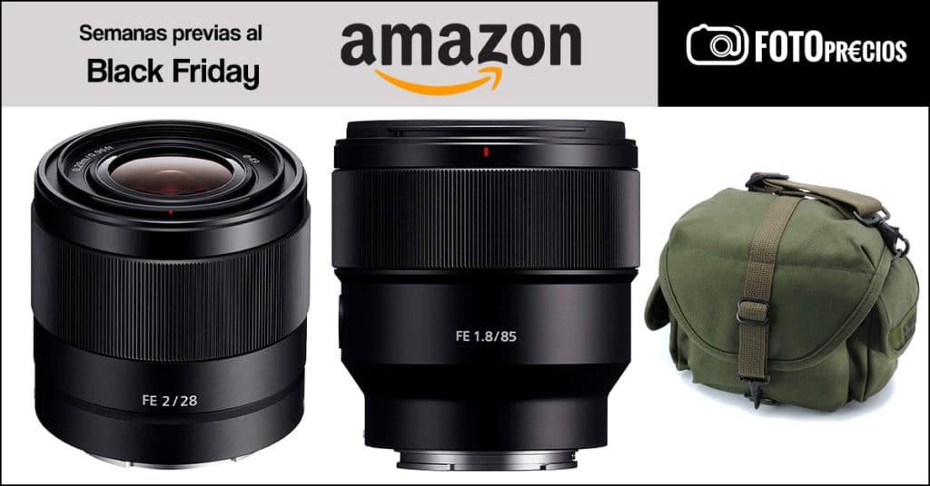 Ofertas de fotografía de las semanas previas al Black Friday 2020 de Amazon.