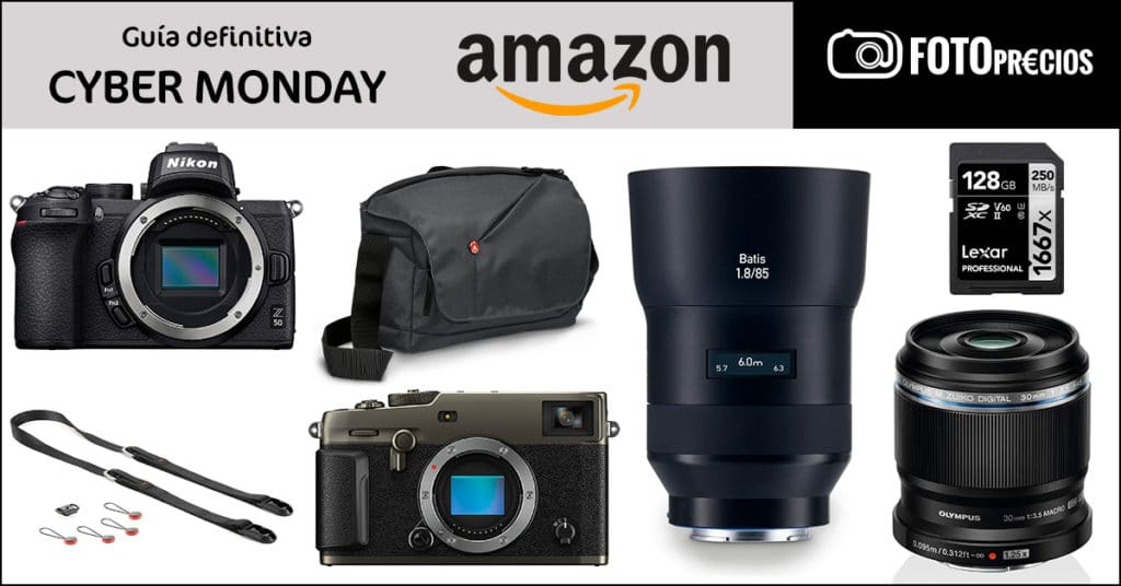 Chollos de fotografía en Cyber Monday 2020 de Amazon.