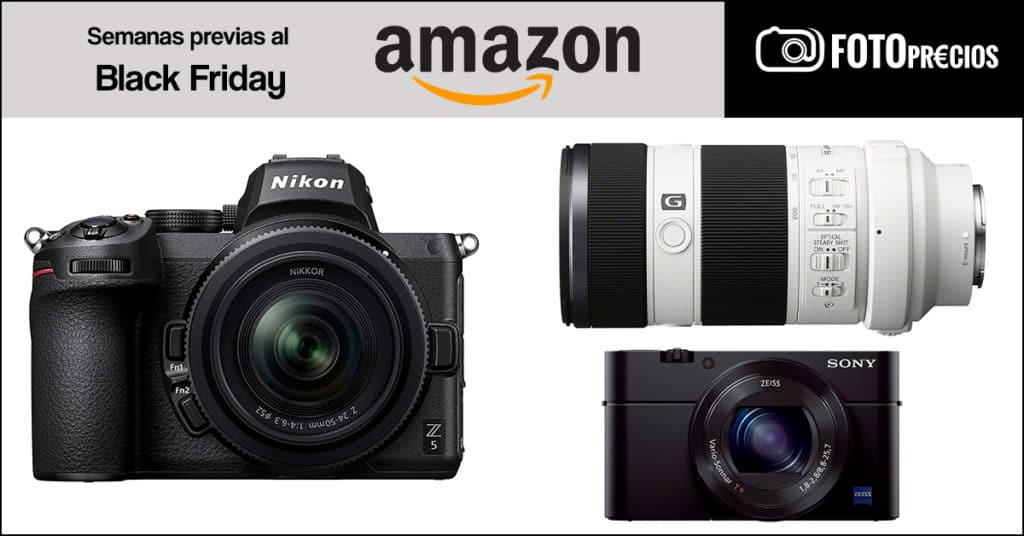 Ofertas de fotografía del Black Friday en Amazon.
