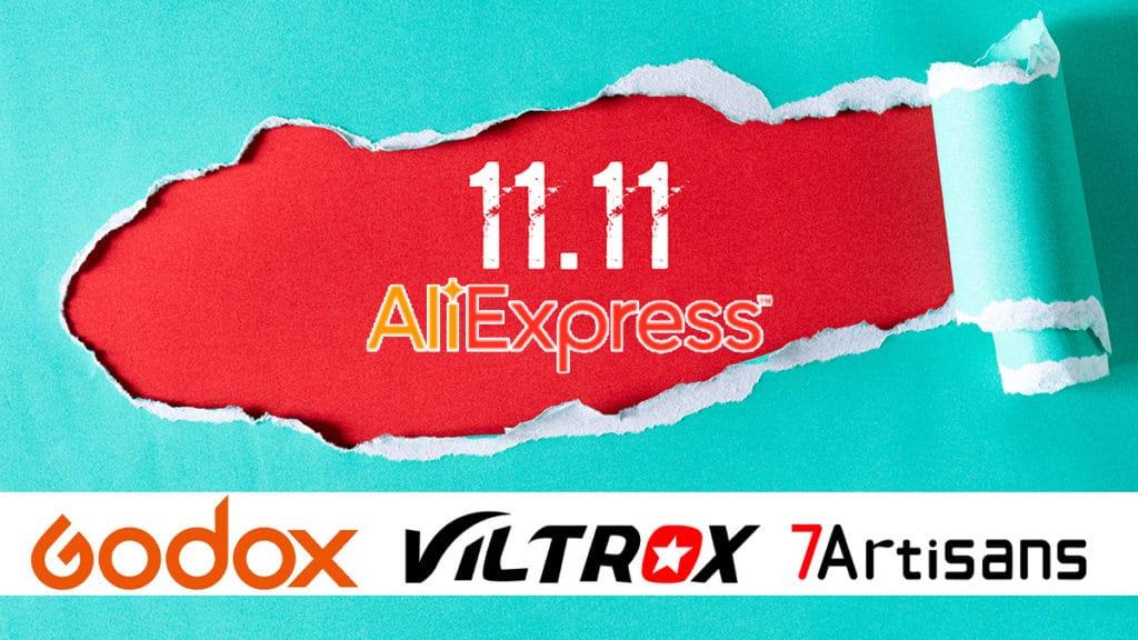 Ofertas del día del soltero 11-11 de fotografía en Aliexpress.