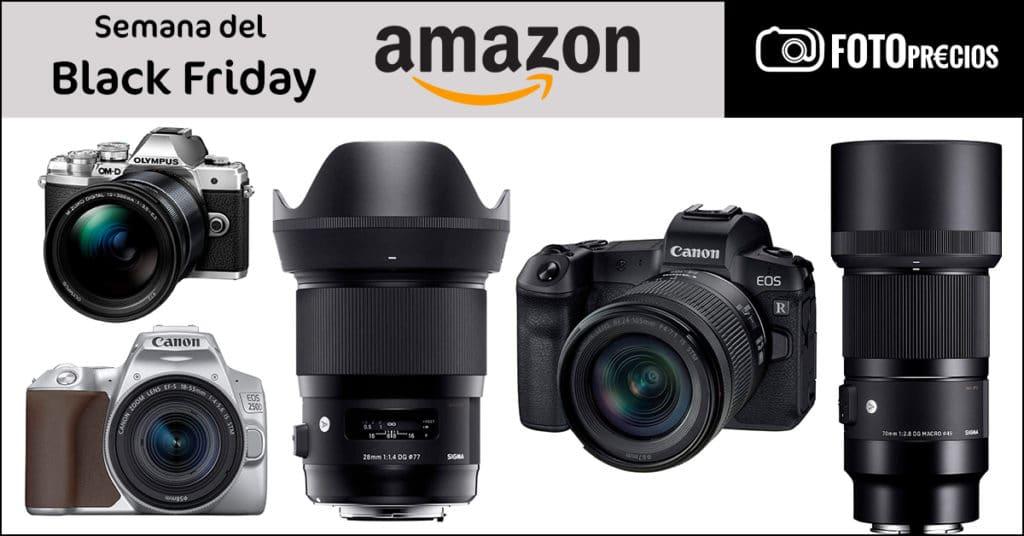 Ofertas de fotografía de la semana del Black Friday 2020 en Amazon.