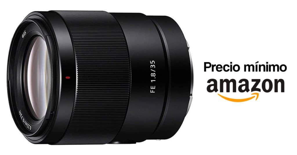 Precio mínimo en Amazon por el Sony FE 35mm F1.8.