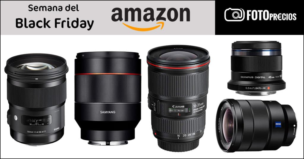 Ofertas en fotografía del Black Friday 2020 en Amazon.
