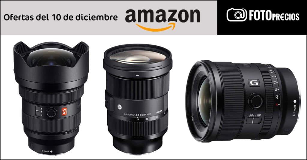 Ofertas de fotografía Sony E Mount del 10 de diciembre.