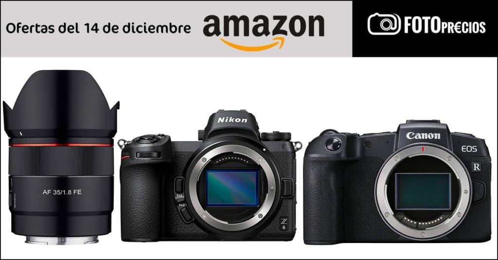 Ofertas de fotografía del 14 de diciembre: Nikon Z6, Canon RP, Nikon D610 y Samyang 35mm F1.8 FE.