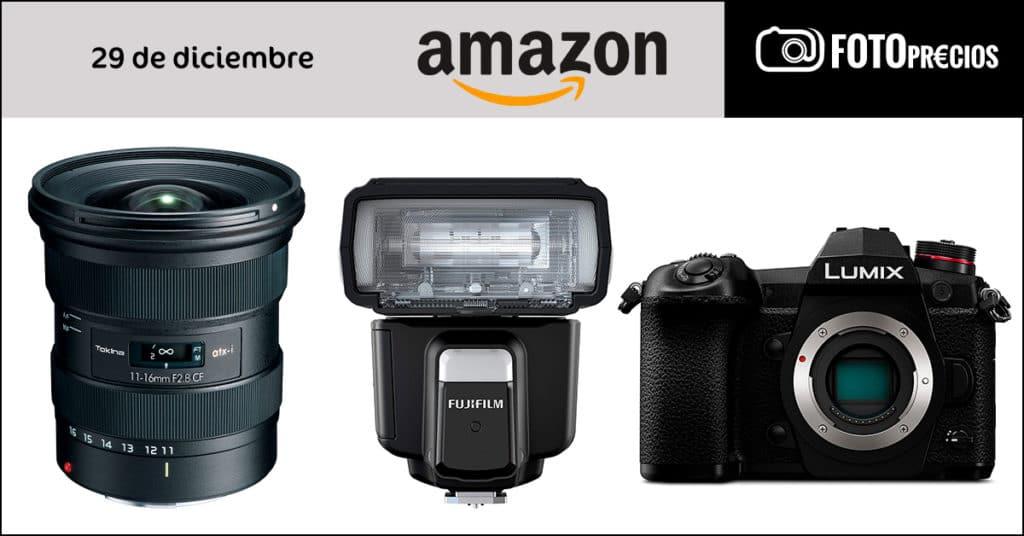 Ofertas de fotografía del 29 de dciembre en Amazon.