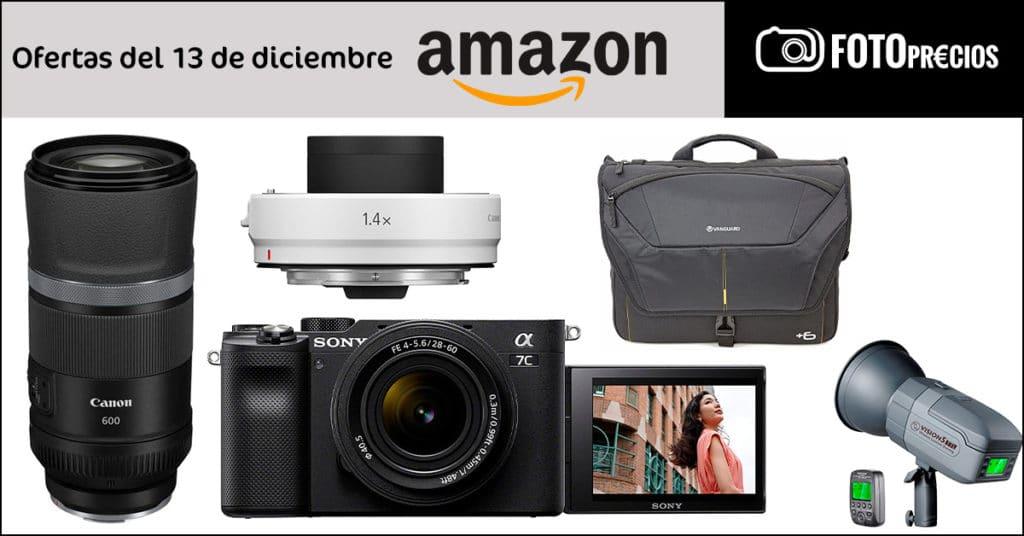 Ofertas de fotografía del 13 de diciembre en Amazon.