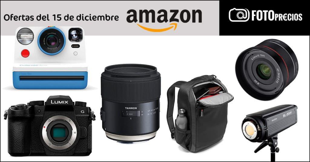 Ofertas de fotografía del 15 de diciembre en Amazon.