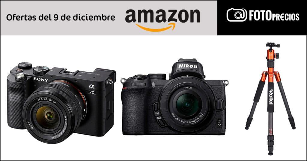 Ofertas en fotografía del 9 de diciembre en Amazon.