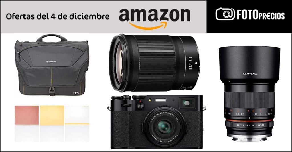 Ofertas de fotografía en Amazon, 4 de diciembre.
