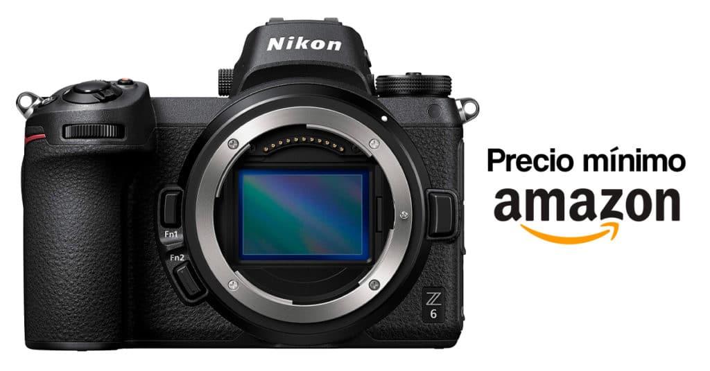 Precio mínimo histórico de la Nikon Z6 en Amazon.