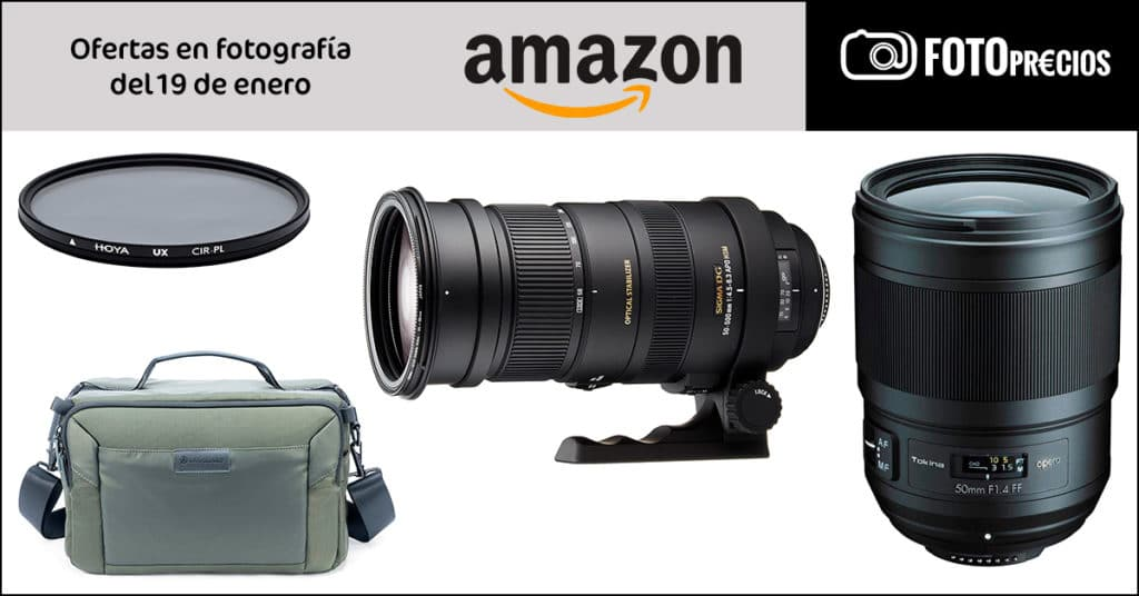 Ofertas de fotografía en Amazon: Tokina Opera, Sigma 50-500mm Nikon...