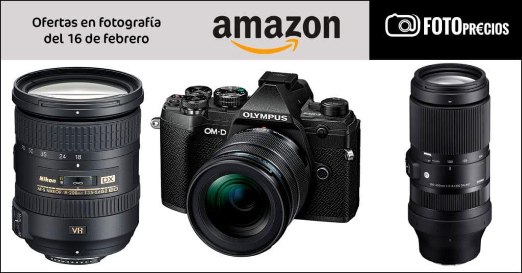 FotoPrecios del 16 de febrero en Amazon. Sigma 100-400 Sony...