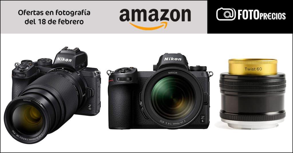 Precios mínimos: ofertas en Nikon Z6  y Z50.