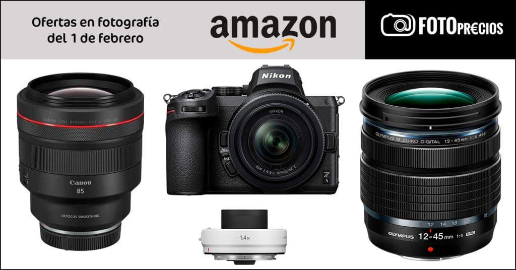 Precios mínimos por Canon 85mm F1.2 L DS, M. Zuiko 12-45mm F4 pro, chollitos Tamrac...