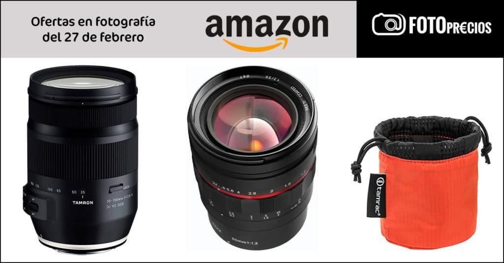 Precios mínimos históricos en Amazon: Tamron 35-150mm F2.8-4 Canon Ef...