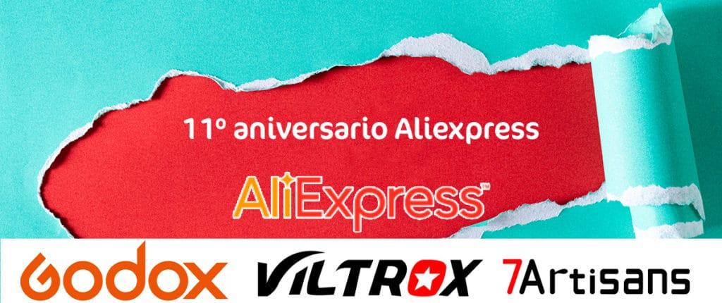 Aniversario Aliexpress, ofertas en fotografía.