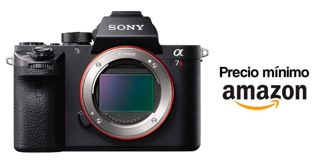 Precio mínio por el cuerpo de la Sony A7R II en Amazon.