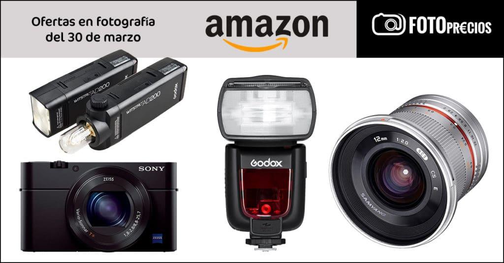 Fotoprecios mínimos del 30 de marzo en Amazon.