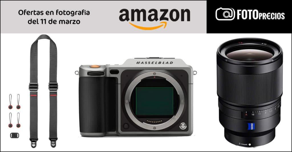 FotoPrecios mínimos del 11 de marzo: Sony Zeiss 35mm F1.4, Peak Design,  Hasselblad X1D...