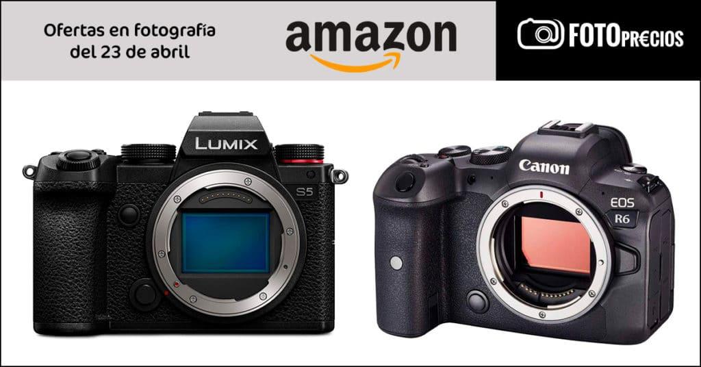 FotoPrecios Lumix S5 y Canon R6 más baratos.