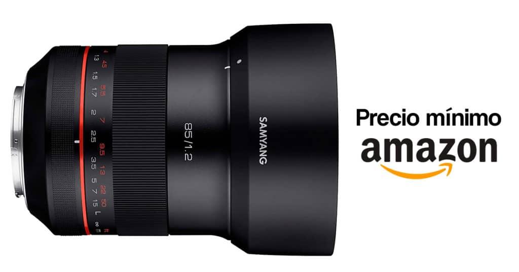Precio mínimo Samyang Xf 85mm F1.2 para Canon.