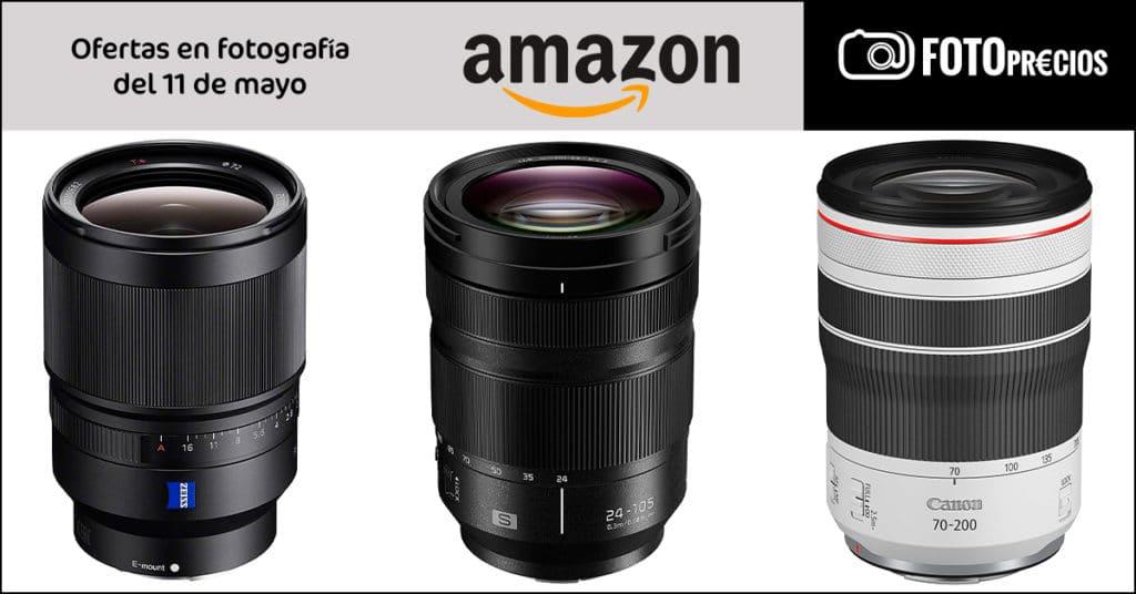 Precios mínimos Zeiss 35mm F1.4 Sony E, Canon RF 24-105mm F4, Lumix 24-105mm.
