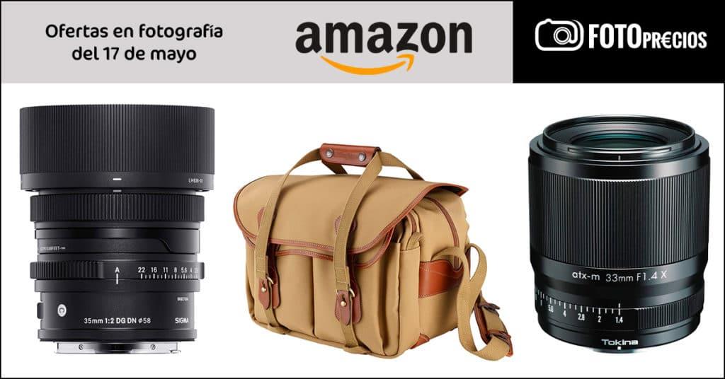 Ofertas del 17 de mayo en fotografía de Amazon.